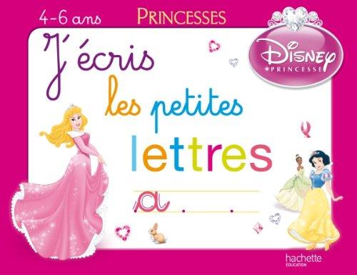 J'écris les petites lettres avec les Princesses - Ardoise