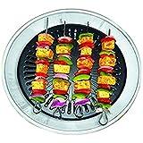 CHEFMAN Gas Tandoor Indoor Smokeless Non-Stick Coating Grill Multi-Functional Grill -Black