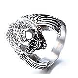 Best Romantic Time Friend Infinity Rings White Golds - Daesar Stainless Steel Ring Engraved Ring for Men Review
