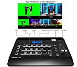 lumantek 4 ch Full HD Video Switcher EZ-Pro VS4/escaladores de interior para SD, HD, Full HD