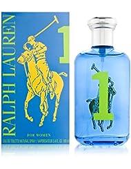 Ralph Lauren BIG PONY Collection for Women # 1blue Eau de Toilette Vaporisateur–100ml/3.4oz