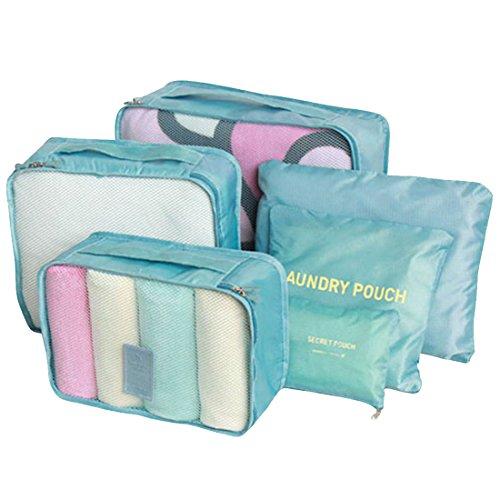 LerBen Koffer-Set Blau blau Einheitsgröße
