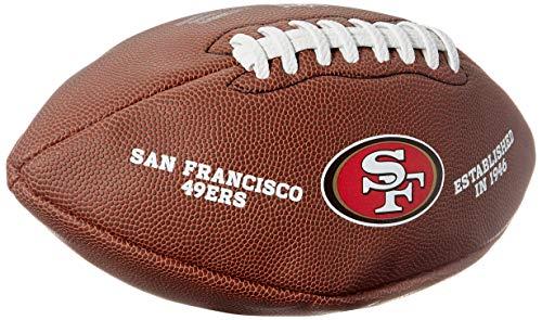 Wilson Unisex-Adult NFL LICENSED BALL GB American Football
