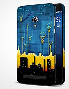 ALDIVO Premium Quality Printed Mobile Back Cover For Asus Zenfone 6 / Zenfone 6 Printed Cover (MKD100)