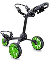 Stewart Golf – r1-s Carrito Negro Black/Green Wheels Talla:n/a