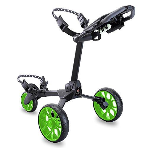 Stewart Golf Chariot de Golf R1-s N/A Black/Green Wheels