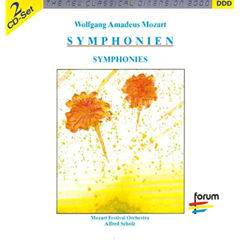 Mozart Symphonies 30, 31, 33, 36, 39