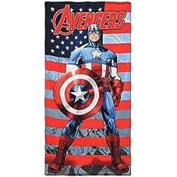 Toalla Playa Piscina Marvel–Avengers Capitán América–70x 140cm