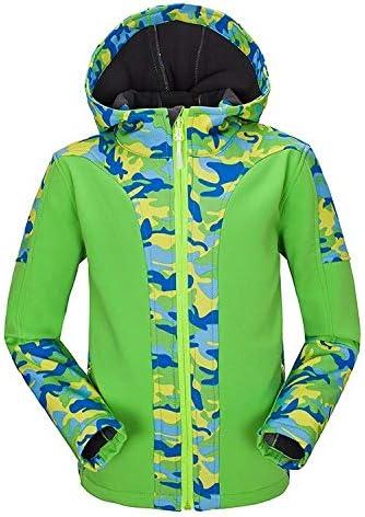 XYL HOME Tuta Tuta Tuta in Pile a Prova di giovinezza Coloreee Mimetico Camouflage Abbinata a Soft Shell Abbigliamento Teen, Frutta verde, XS | modello di moda  | Colori vivaci  4c50ae