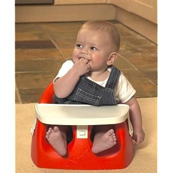 Babyway Karibu Seat with Tray (Red)