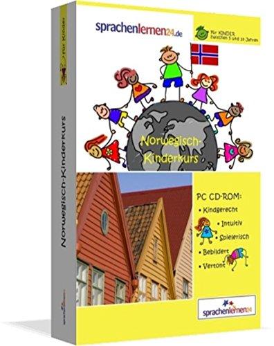 Norwegisch-Kindersprachkurs von Sprachenlernen24: Kindgerecht bebildert und vertont für ein spielerisches Norwegischlernen. Ab 5 Jahren. PC CD-ROM für Windows 10,8,7,Vista,XP / Linux / Mac OS X