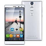 Smartphones Best Deals - THL T7 Smartphone 4800mAh Powerful 4G Unlocked Phone 64-bit 5.5 HD 1280*720 pixels, Android 5.1 MT6753 Octa Core 1.3GHZ, RAM 3GB, ROM 16GB,Dual SIM (Silver)