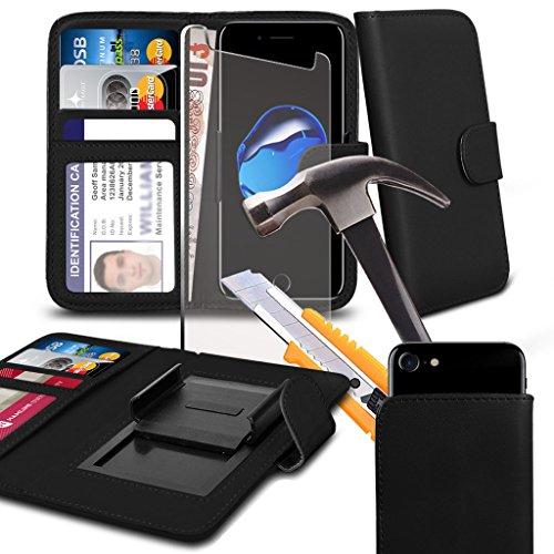 phone-accessories-pack-wallet-tempered-glass-black-154-x771-case-for-aldi-medion-life-e5005-case-cov