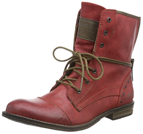 Mustang 1157-508-5, Stivaletti Donna Rosso (Rot)