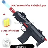 SHOPEE BRANDED Mini Submachine Toys Gun with Jelly Shots and Soft Foam Bullets (Multi Color )