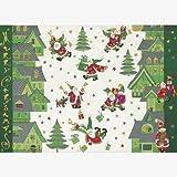 Turnowsky Postkarte Weihnachten Santa Claus is coming to Town SET 5 Karten
