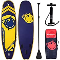 "Stand Up Paddle hinchable Player 9 '8 ""(294 cm) Adrenalin Pack con remo, bolsa, kit de reparación, Derive y bomba, Pack personnalisé ""ADRENALIN"""
