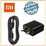 Generic Xiaomi 2A Fast Wall Adapter with Data Cable for Mi1 Mi1S Mi2 Mi3 Mi4 /Redmi Note 2/Note 3/MI 4i/MI 4c/Mi PAD 2 (Black)