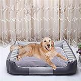 Wuwenw Cuccia per Cani Riscaldata, Rimovibile E Lavabile, Materasso per Animali, Pieghevole, Tenda...