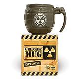 Fizz Creations Grenade Mug – Soldier Style Hand Grenade Coffee Mug made of fine ceramic – Army Mug for men is perfect Dads Army Mug