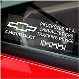 5x ppchevroletgps GPS-Tracking Gerät Sicherheit Fenster Aufkleber 87x 30mm-car, Van Alarm Tracker, Aufkleber, Zeichen, Warnung, Pinnwand