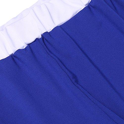 ZEARO ZEARO Femme Sport Yoga Suit Bra de Gym-Fitness-Yoga Sport Short- Vêtement de Sport pour Yoga Pilates Jogging Danse Bleu