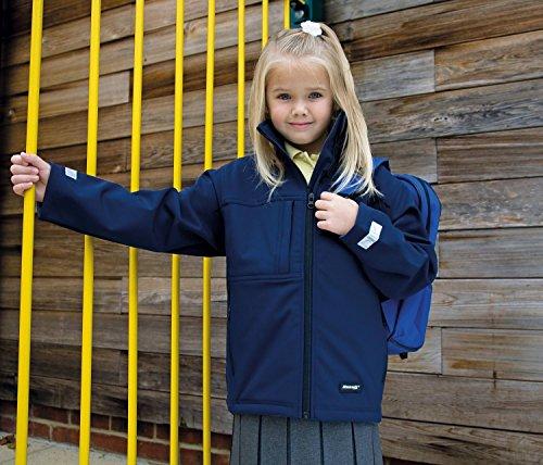 Ergebnis Junior Klassik Softshell 3 Lagen-Jacke Navy