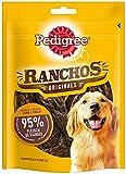 Pedigree Hundesnacks Hundeleckerli, Ranchos, mit Huhn, 7 Packungen (7 x 70 g)