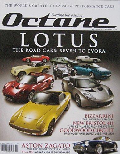 octane-magazine-back-issue-10-2008-no-64-featuring-lotus-aston-martin-bizzarrini-bristol