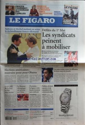 FIGARO (LE) [No 19829] du 02/05/2008