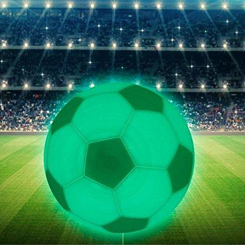 (DIMDIM MYCHOME 1 STÜCK 8 cm LED Nachtlicht Wiederaufladbare 3D Druck Fußball Lampe LED Nachtlicht Bunte Schlafzimmer Dekoration Nachtlichter Kindertag Geschenk Mondlampe)