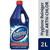 Domestos Hygiene-Reiniger (für das gesamte Haus mit Aktiv-Chlor effiziente Schimmelbeseitigung) ( 6 x 2000 ml)