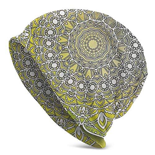 Mystic Asian Mandala Zen Culture Valentine 2019 Caliente Divertido actualización Hip-Hop Adulto Jerseys, Adulto Knit Beanie War