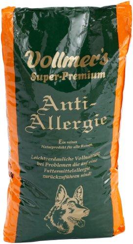 Vollmer's 37092 Hundefutter Anti-Allergie 15 kg