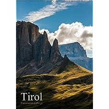 Tirol - Faszination Gebirge (Wandkalender 2018 DIN A2 hoch): Fotografien vom und im Gebirge (Monatskalender, 14 Seiten ) (CALVENDO Natur) [Kalender] [Apr 01, 2017] Grossbauer, Sabine