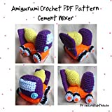 Cement Mixer - Amigurumi crochet PDF Pattern (English Edition)