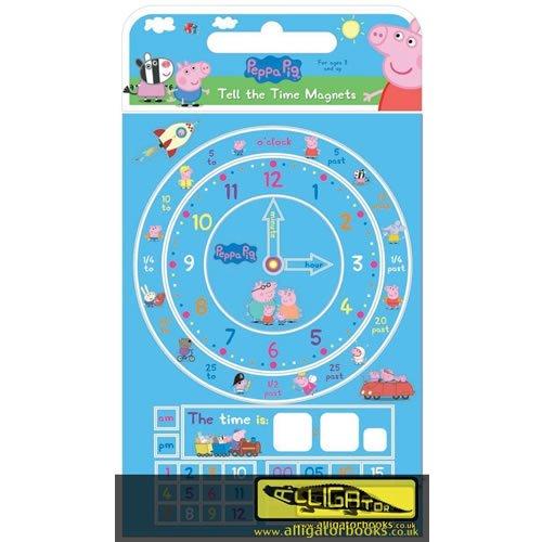 Anker ANK1866/PETIFM - Peppa Pig Uhrzeit-Lern-Magnet (Lern-spiele Für Hause Zu Kleinkinder)