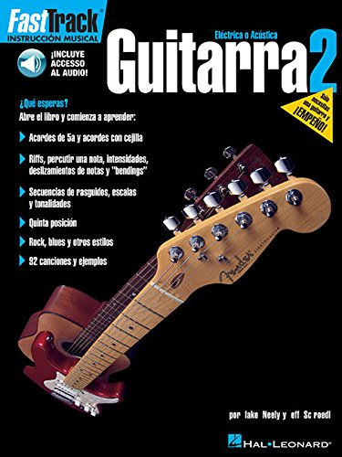Fasttrack - guitarra 2 (esp) +CD