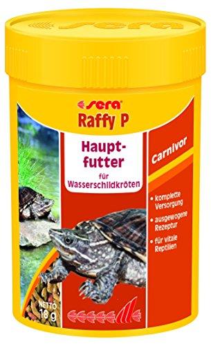 sera 01840 raffy P 100 ml das Hauptfutter für Wasserschildkröten - schmackhaften schwimmenden Futtersticks für die tägliche Fütterung