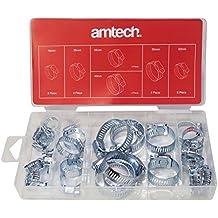Am-Tech Coffret de 26 colliers de serrage