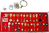 Fairy Tail Key 29 Golden Zodiac Keys Lucy Natsu Happy Prop Accessories
