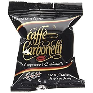 Caffè Carbonelli 100 Capsule Monodose, Miscela Arabica - 1 Scatola