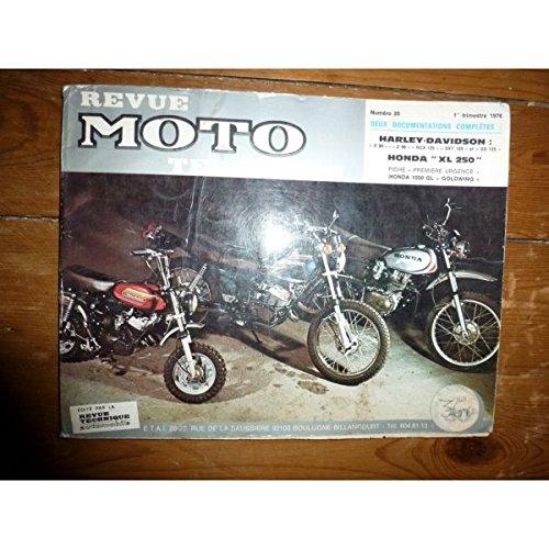 Rmt- Revues Techniques Moto - 90 - 125 - XL250 Revue Technique moto Harley Davidson Honda