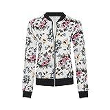 7 Fashion Road - Chaqueta - Gabán - para mujer Blanco White Floral