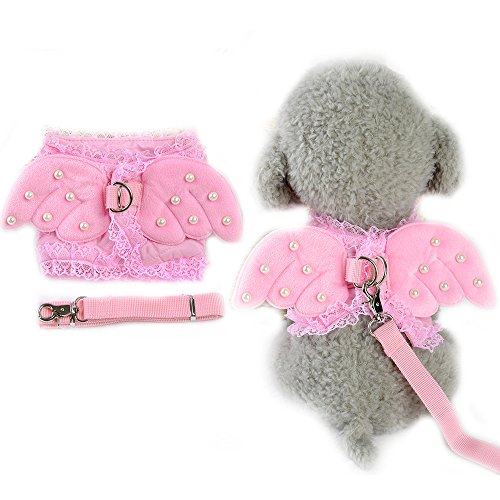 �gel Hundegeschirr Weste Kostüm Süßer kleiner Hund Halsband Geschirr Leine Leine (Liebenswerte Hunde In Kostüme)