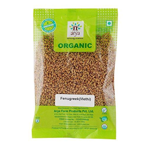 Arya Farm Organic Fenugreek, 200g
