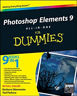Photoshop Elements 9 All-in-One For Dummies by [Obermeier, Barbara, Padova, Ted]