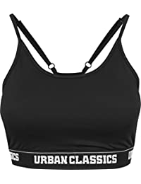 Urban Classics Ladies Bra, Soutien-Gorge de Sport Femme