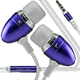 i-Tronixs (Dark Purple +Earphones) Umi Iron Eyeprint Case