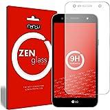 nandu I ZenGlass Flexible Glas-Folie für LG X Power 2 Panzerfolie I Display-Schutzfolie 9H
